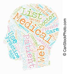 Online MDs Why To Get Your Practice On The Web text background wordcloud concept