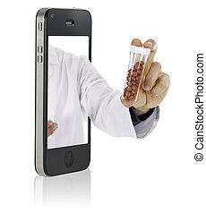 Online Medicine - Mobile phone to web pharmacy and medical...