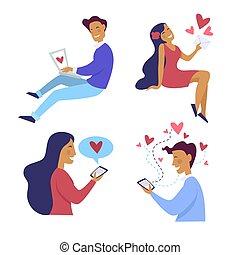 Dating Talk-Zeilen