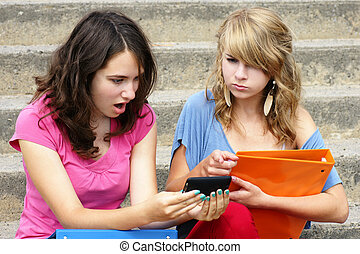 Online or cyber bullying concept - Cyber or online bullying...