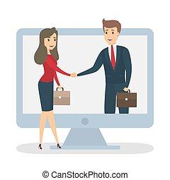 Online partner concept