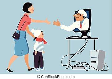 online pediatrics
