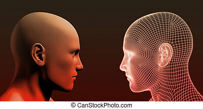 Online Personality with Physical Human and Digital Avatar