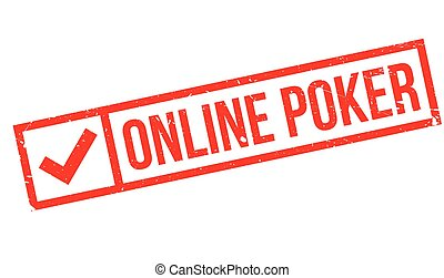 Online poker stamp