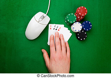 Online Poker - An onling gaming concept