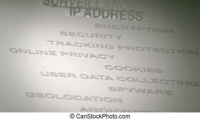 Online Privacy Concept Animation - Online Privacy related...