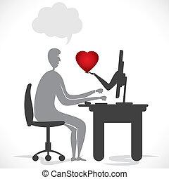 online, romaans
