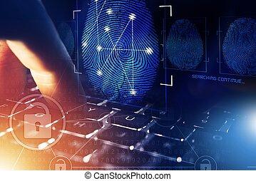 Online Security Screening