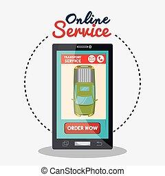 online service green car transport