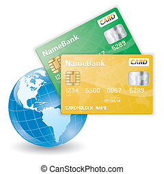 Online Shop Concept - Concept of Online Shopping with Credit...