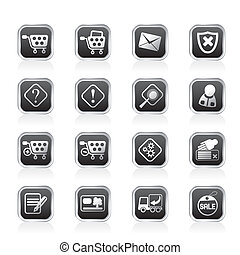 Online Shop Icons