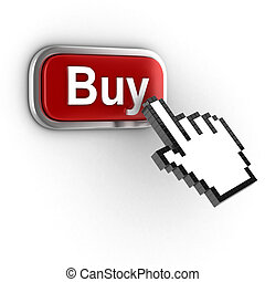 online shopping - buy now 3d icon