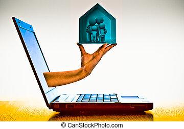 Online Shopping, E Commerce Concept
