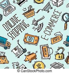 Online shopping pattern