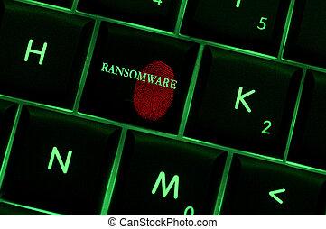 Online spyware concept