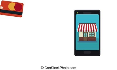 Online store from smartphone