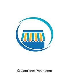 Online Store icon vector design