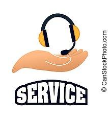 Online Support and headphones design