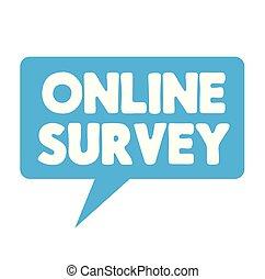 Online Survey label