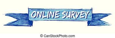 online survey ribbon