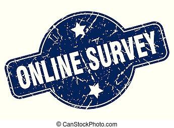online survey sign