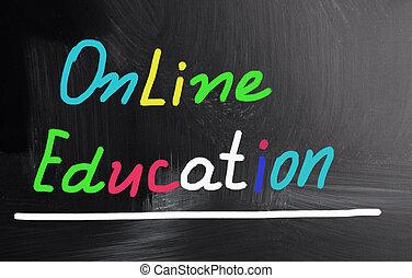 online tanítás