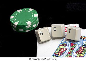 Online texas holdem, casino