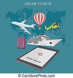 online tickets booking