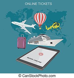 online tickets booking