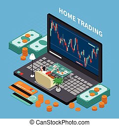 Online Trading Stock Exchange Composition