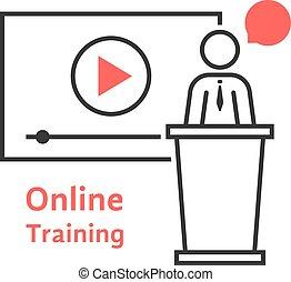 online training with linear spokesman