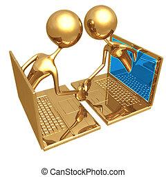 online, transakcja