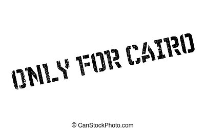 Only For Cairo rubber stamp. Grunge design with dust scratches. Effects can be easily removed for a clean, crisp look. Color is easily changed.