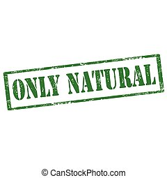 Only Natural-stamp
