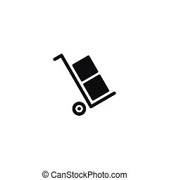 Only use the trolley symbol on white background - Only use...
