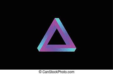 onmogelijk, driehoek, laag, poly
