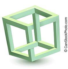 onmogelijk, kubus