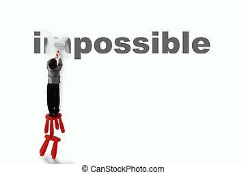 onmogelijk, mogelijk, veranderen