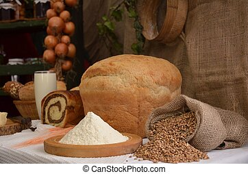 ons, alledaags, brood