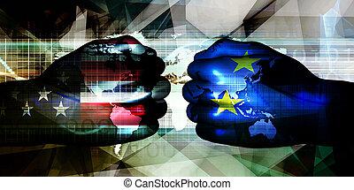ons, eurozone, vs