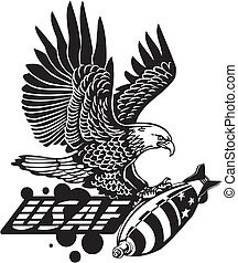 ons lucht macht, -, militair, design.