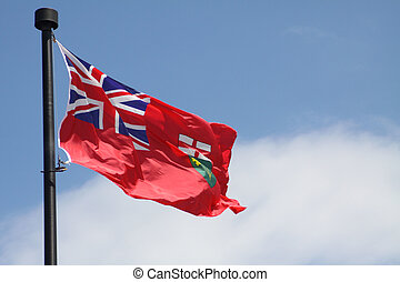 Ontario Provincial Flag - Flag of the Province of Ontario ...