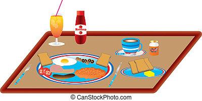 ontbijt, engelse
