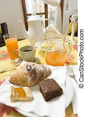 ontbijten kamer