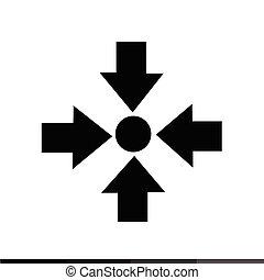 ontmoetingsplek, ontwerp, illustratie, pictogram