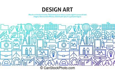 ontwerp, concept, kunst