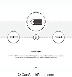 ontwerp, concept, potlood