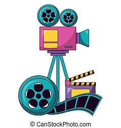 ontwerp, film, bioscoop