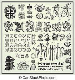 ontwerp, heraldisch, communie