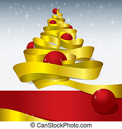 ontwerp, kerstmis, (vector)